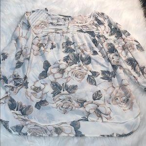 Floral blouse by Lauren Conrad